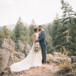 Inspiración de boda en los Alpes suizos de la gran boda falsa