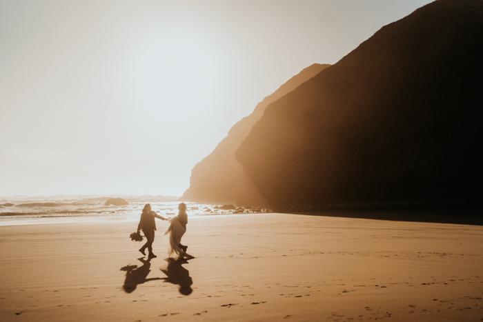 Elopement de la costa de Oregon